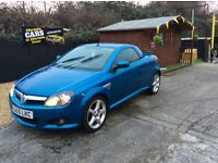 Vauxhall Tigra convertible full leather 2005
