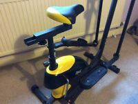 Everlast 2 in 1 cross trainer and bike
