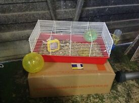 Hamster cage with extras , bargain AND POSSIBLE FREE DELIVERY