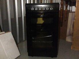 Belling 50cm Electric Free Standing Cooker BEL FSEC50FDO