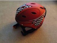 Childrens adjustable ski helmet