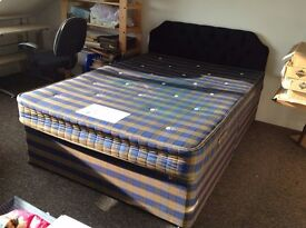 Bedroom Furniture - Bed, wardrobes, chests of drawers and other storage units.