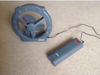 COLEMAN CAMPING FAN COMPLETE WITH BATTERIES (9V)