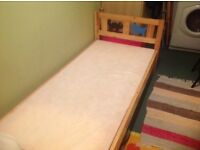 Ikea child's bed.