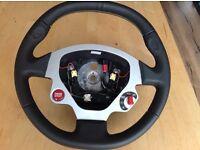 Ferrari F430 car steering wheel - like new