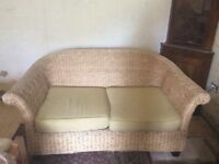 For Sale Sofa and two matching chairs and two small tables