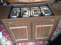 Philips Hostess trolley in very good condition, hardly used