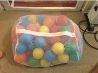 Bag of playpit balls