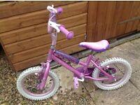 Disney princess girls bike