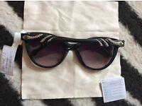 Auth roberto cavalli classic snake women black sunglasses
