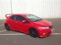 "2007/07 Honda Civic Type R GT 2.0 I V-TEC Milano Red ""STUNNING CAR"" TUNED BY TDI NORTH """