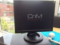 CCTV security system. Cnm monitor