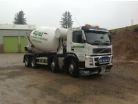 class 2 ready mix drivers required