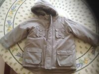 Boy's New With Tags Mini Mode (Boots) Light Green Coat