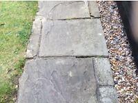 Yorkstone slabs. Various sizes.