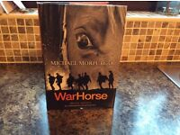 SPECIAL EDITION HARD BACK COPY OF WARHORSE BY MICHAEL MORPURGO
