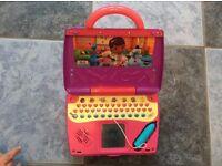 Vtech write & learn doc mcstuffin doctors bag laptop for age 2+