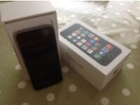 Unlocked iPhone 5s in excellent condition always kept in a protective case...black.