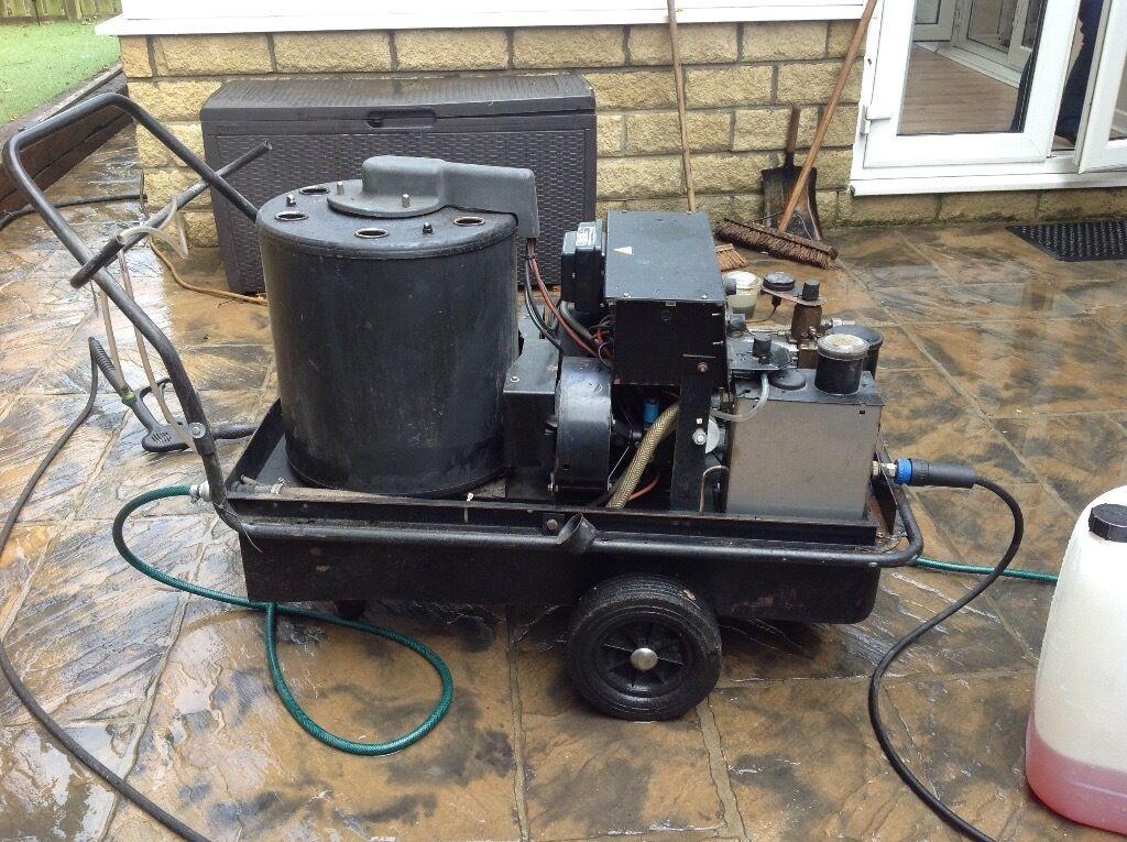 diesel power washer