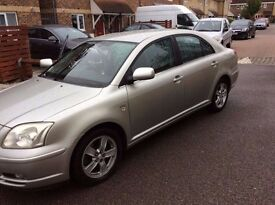 04 TOYOTA AVENSIS D4D 5 DR HATCH SILVER 2.0 DIESEL ENG CODE - 1CD-FTV CAR PARTS