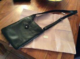 Across the shoulder black Radley Bag
