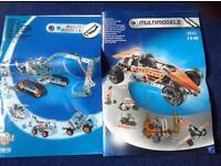 MECCANO MULTI MODEL KITS 6515 and RARE 6550
