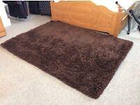 Next brown rug 120 x 170 cm