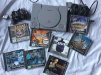 Sony playstation 1 include some games