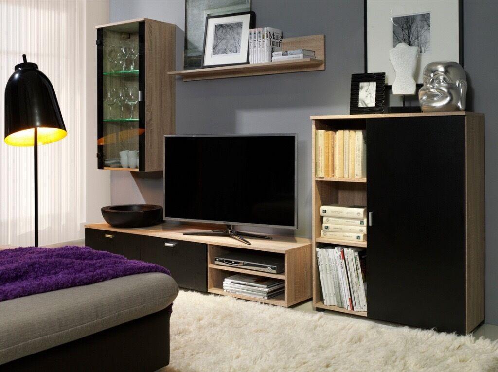 New Living Room Furniture Set TV Wall Unit Stands Cabinet Modern Unit Cabinet