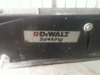 dewalt table saw and mitresaw both good condition