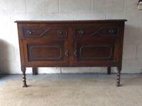 Vintage Oak Cupboard with original details