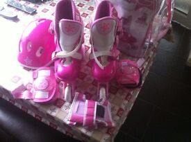 Girls Rollerblade set £15