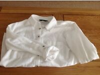 Dorothy Perkins white line shirt size 10