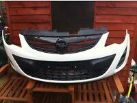 Corsa d front bumper face lift