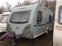 2012 Bailey Orion Evolution 4 Caravan