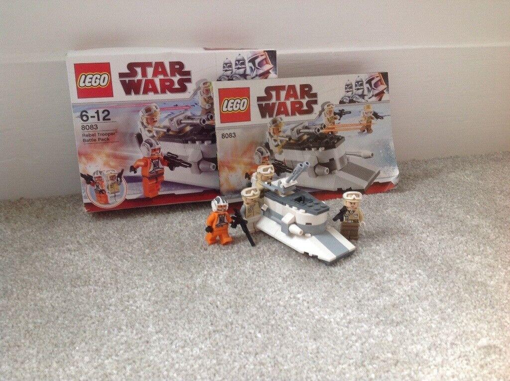 Lego Star Wars Rebel Trooper Battle Pack 8083 In West Kilbride