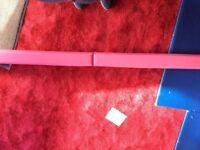 GYmnastic floor balance beam and large folding wedge cube
