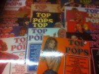 TOP OF THE POPS LP's