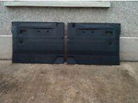 Landrover defender door card panels