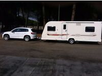 Bailey unicorn Almeria touring caravan