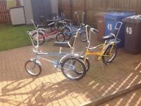 Wanted Raleigh Choppers or Parts for Restoration