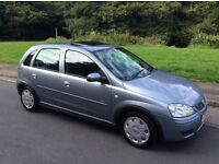 VAUXHALL CORSA 1.2 DESIGN. 2006. ONLY 73,000 MILES. MOT JULY. A GOOD SERVICE HISTORY.