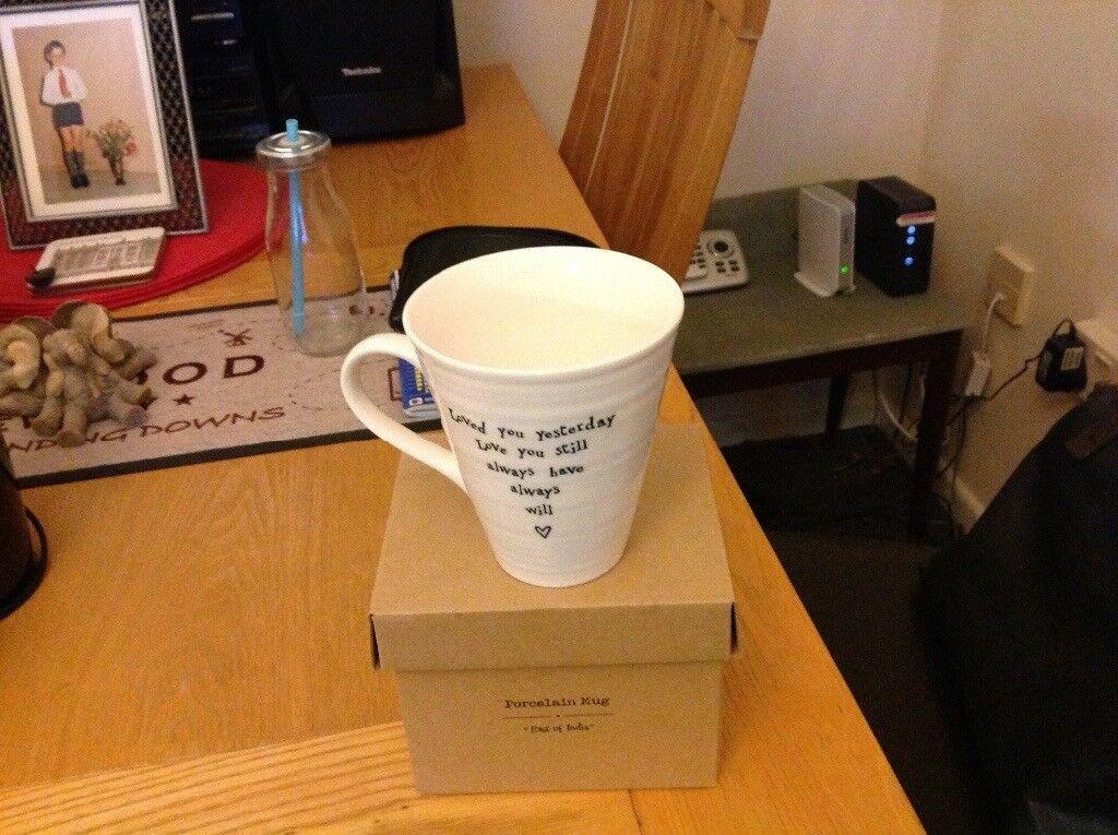 Porcelain mug east of india