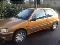 Peugeot 106 Look2 1998 for quick sale - £100