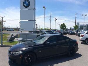 2015 BMW M3 M3 2015 // NOIR SUR NOIR // GARANTIE // BAS KM
