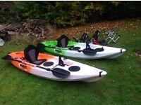 Quroc 2no Sea Kayaks for sale Orange & Green