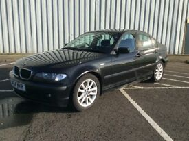 BLACK BMW 320D 4DR