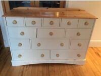 Upcycled 13 drawer chest