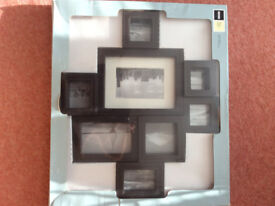 Faux Brown Leather Picture Frame As new - Unopened