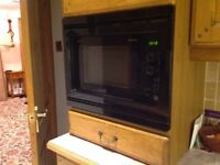 Upright Freezer, Double Oven,Integrated Microwave